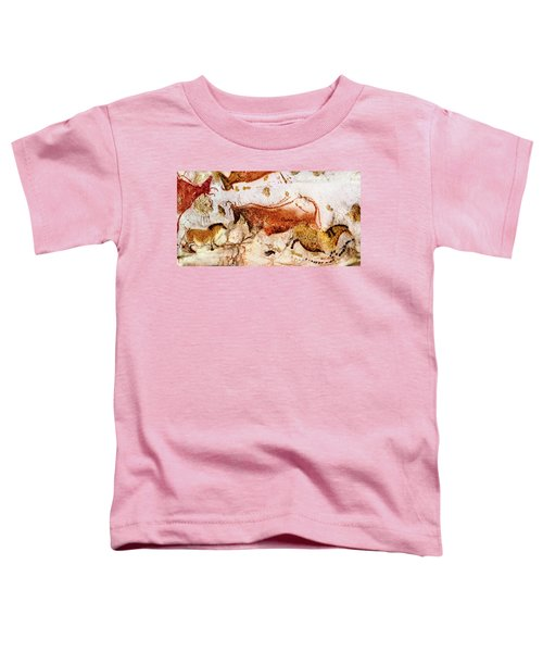 Lascaux Cow And Horses Toddler T-Shirt