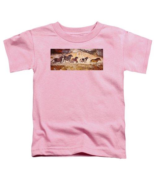 Lascaux Horses Toddler T-Shirt