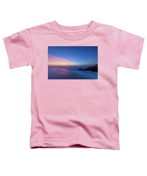 Last Light In April, Sunset Clifs Toddler T-Shirt