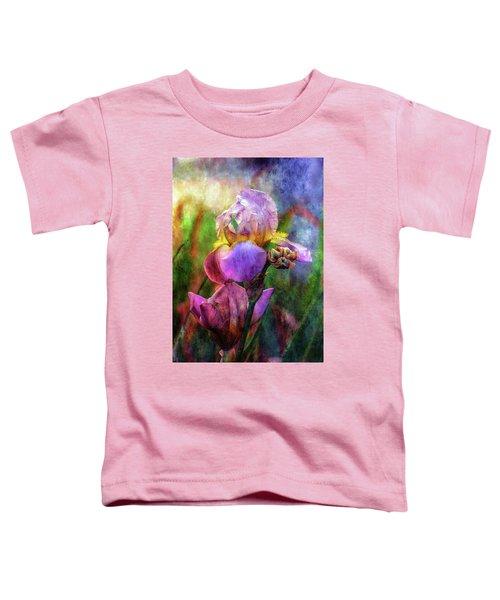 Lavender Iris Impression 0056 Idp_2 Toddler T-Shirt