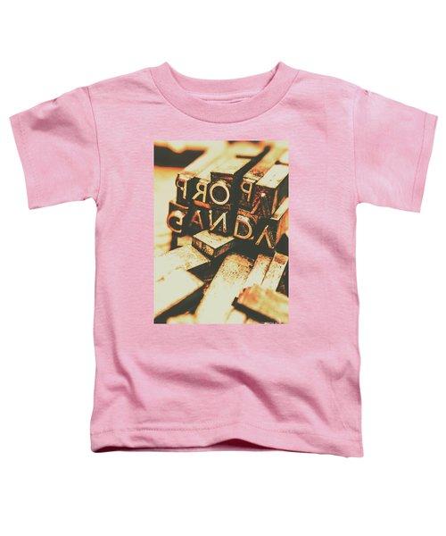 Layers Of Lies Toddler T-Shirt