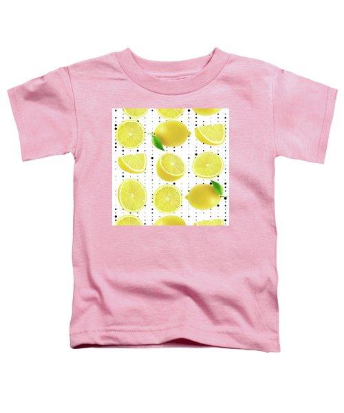 Lemon  Toddler T-Shirt by Mark Ashkenazi