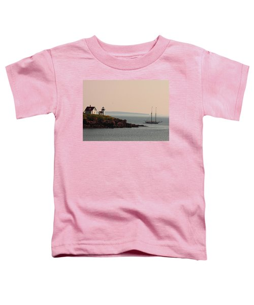 Lewis R French At The Curtis Island Lighthouse Toddler T-Shirt
