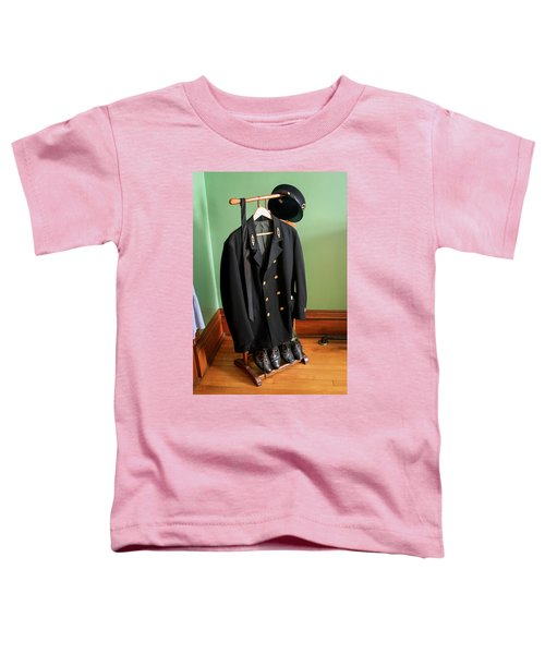 Lighthouse Keeper Uniform Toddler T-Shirt