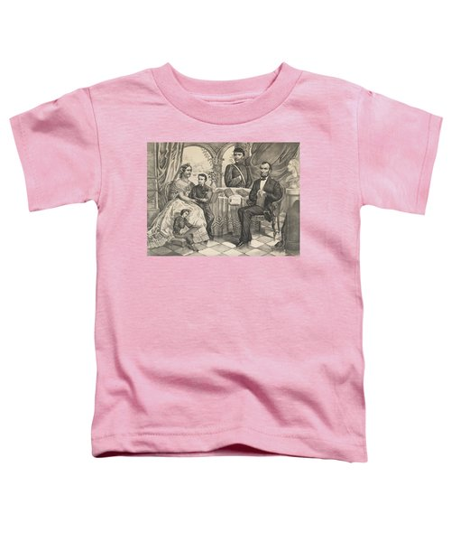 Lincoln And His Family Toddler T-Shirt