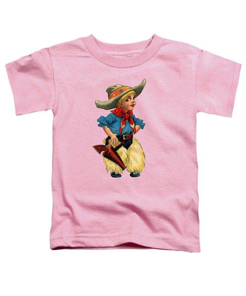 Little Cowboy T Shirt Toddler T-Shirt