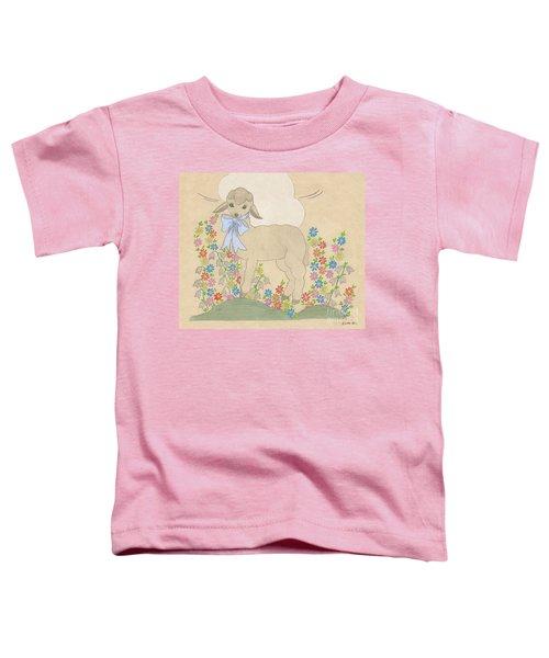 Little Lamb Lightened Toddler T-Shirt