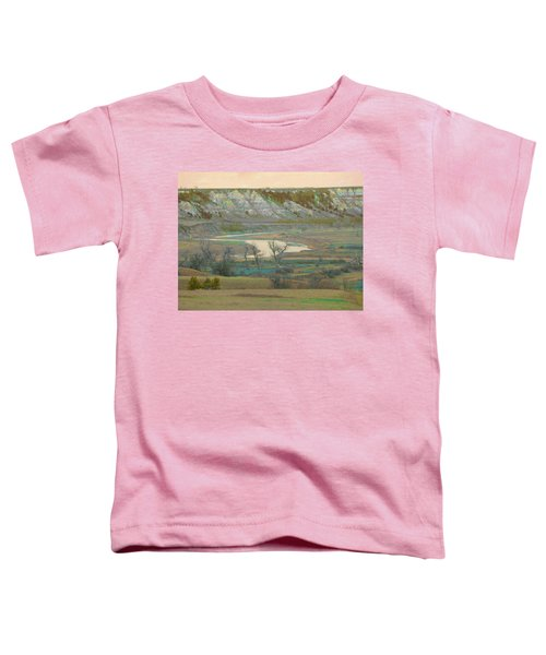 Logging Camp River Reverie Toddler T-Shirt