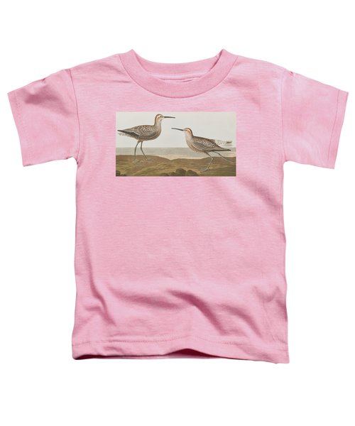 Long-legged Sandpiper Toddler T-Shirt by John James Audubon