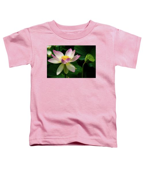 Lotus Lily In Its Final Days Toddler T-Shirt