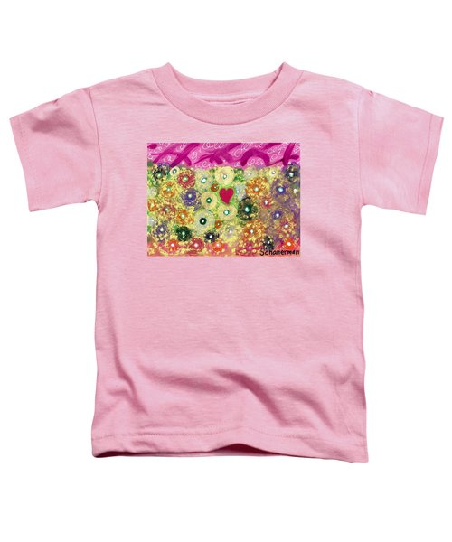 Love And Silly Bubbles Toddler T-Shirt