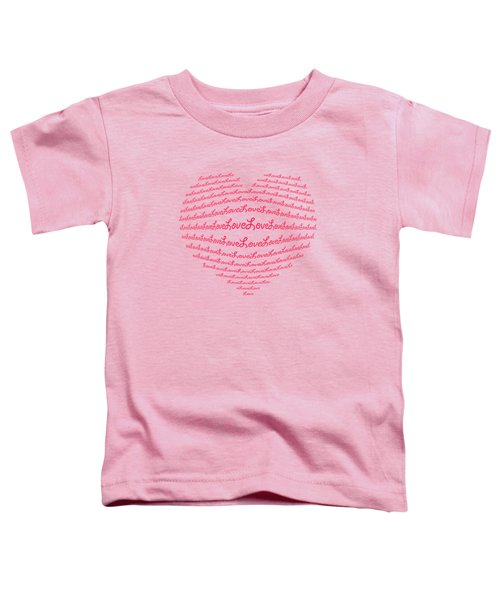 Love Boom Toddler T-Shirt
