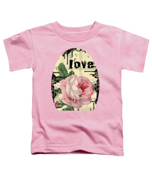 Love Grunge Rose Toddler T-Shirt