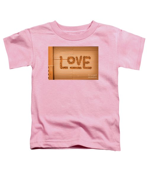 Love Is All Toddler T-Shirt