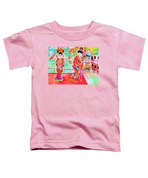 Lovely Asian Ladies Toddler T-Shirt