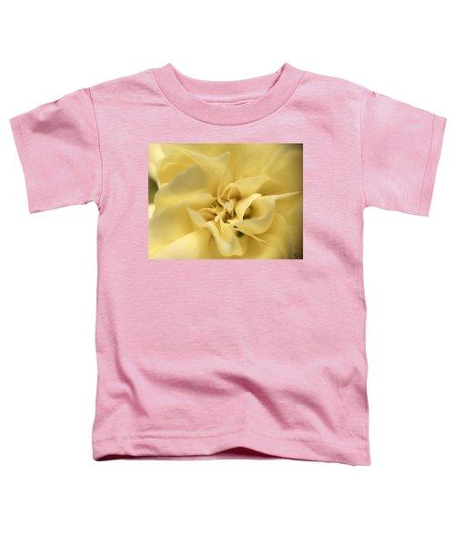 Macro Yellow Rose Toddler T-Shirt