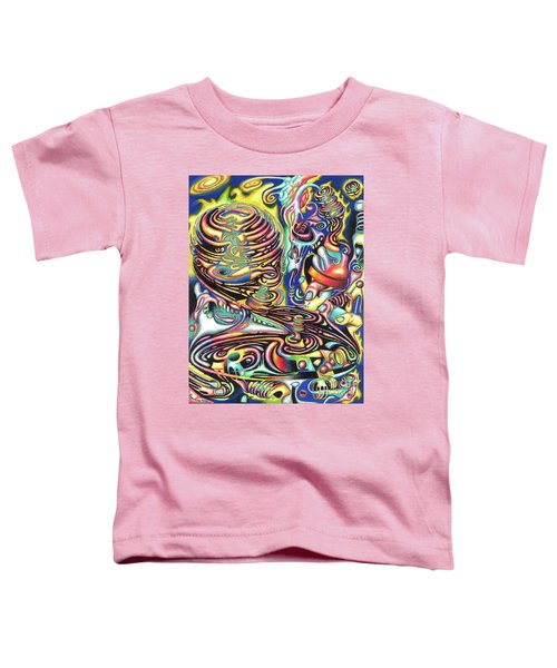 Macrocosmic Creation Of A Splendid Puzzle Toddler T-Shirt