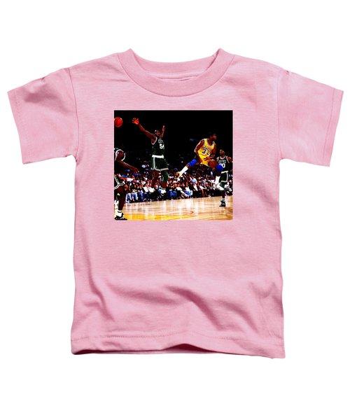 Magic Johnson No Look Pass 7a Toddler T-Shirt
