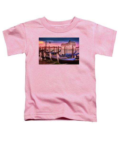 Magical Sunset In Venice Toddler T-Shirt