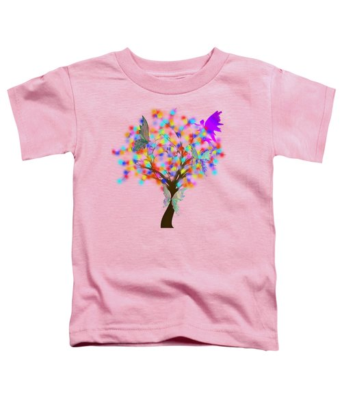Magical Tree - Digital Art Toddler T-Shirt