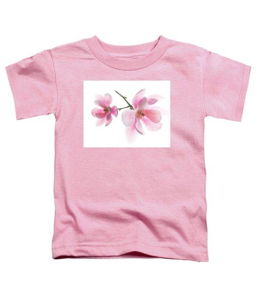 Magnolia Is The Harbinger Of Spring. Toddler T-Shirt