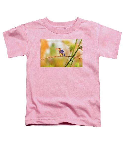 Malachite Kingfisher Hunting Toddler T-Shirt
