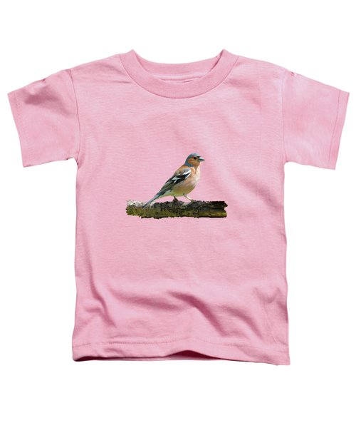 Male Chaffinch, Transparent Background Toddler T-Shirt