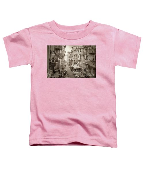Manarola In Sepia Toddler T-Shirt
