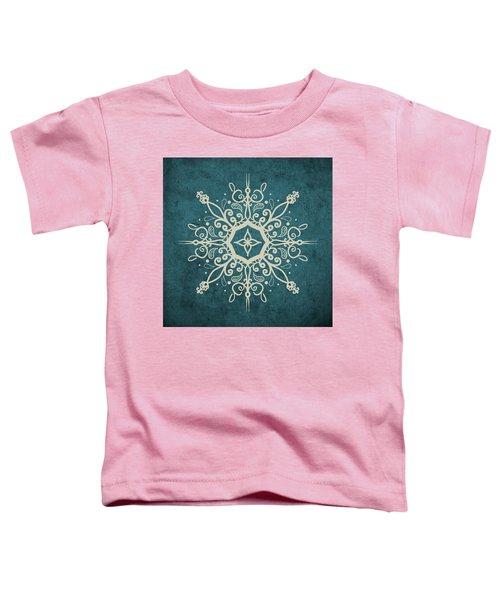 Mandala Teal And Tan Toddler T-Shirt