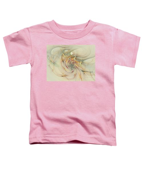 Marble Spiral Colors Toddler T-Shirt