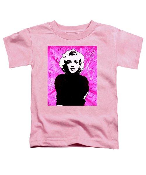 Marilyn Monroe In Hot Pink Toddler T-Shirt
