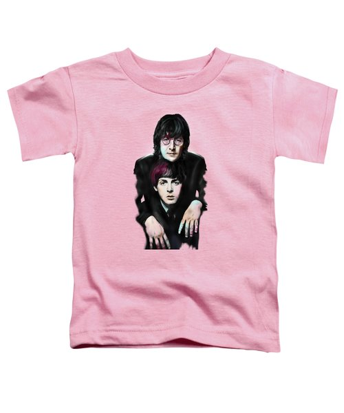 Mccartney And Lennon Toddler T-Shirt