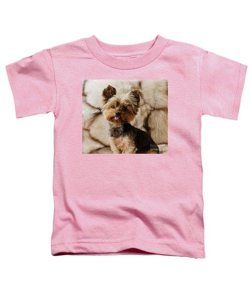 Melanie On Fur Toddler T-Shirt