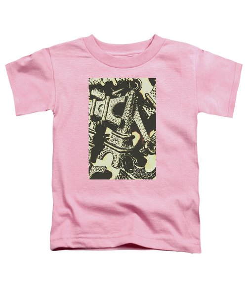 Mementos Of Paris France Toddler T-Shirt
