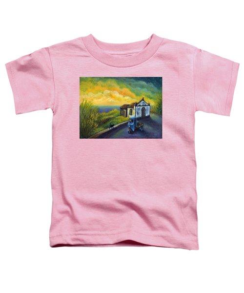 Memories Neath A Yellow Sky Toddler T-Shirt