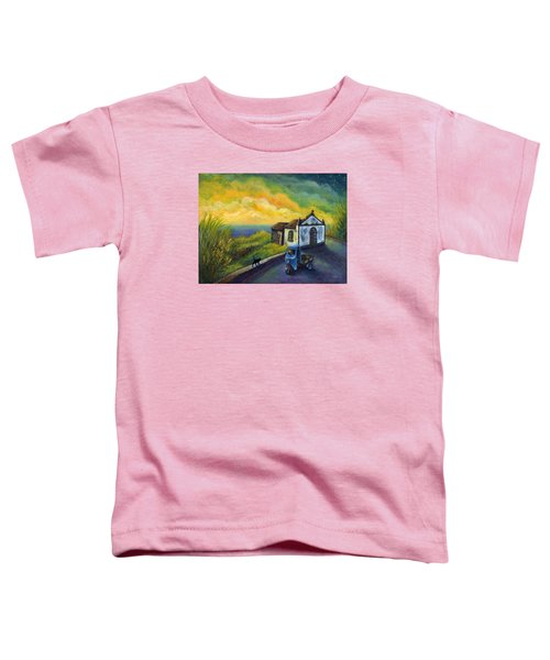 Memories Neath A Yellow Sky Toddler T-Shirt