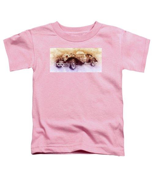 Mercedes-benz Ssk 2 - 1928 - Automotive Art - Car Posters Toddler T-Shirt