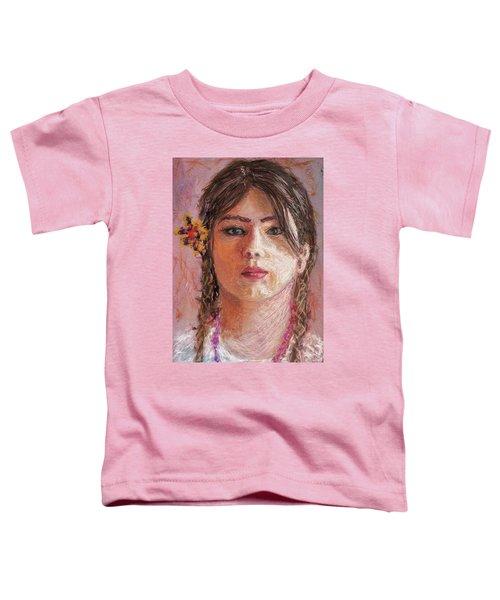 Mexican Girl Toddler T-Shirt
