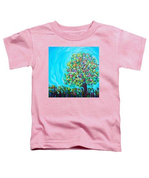 Mid-summer Tree Breath Toddler T-Shirt