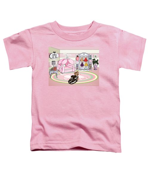 Millie Larue's French Room Toddler T-Shirt