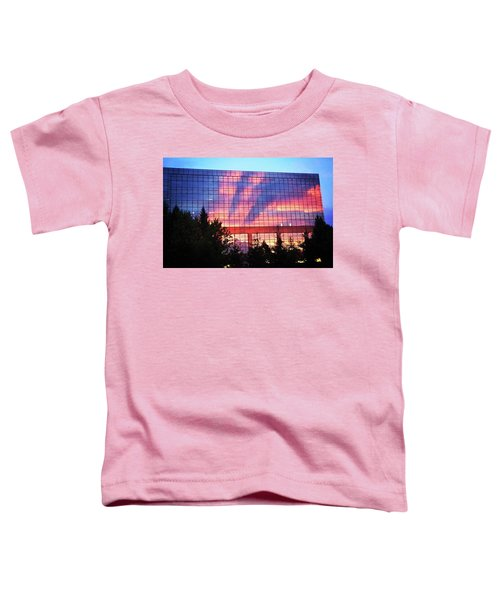 Mirrored Sky Toddler T-Shirt