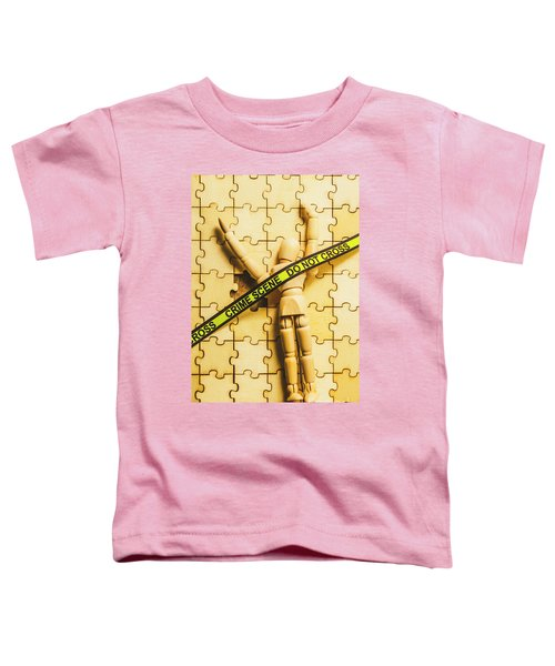 Missing Piece Of The Puzzle Toddler T-Shirt