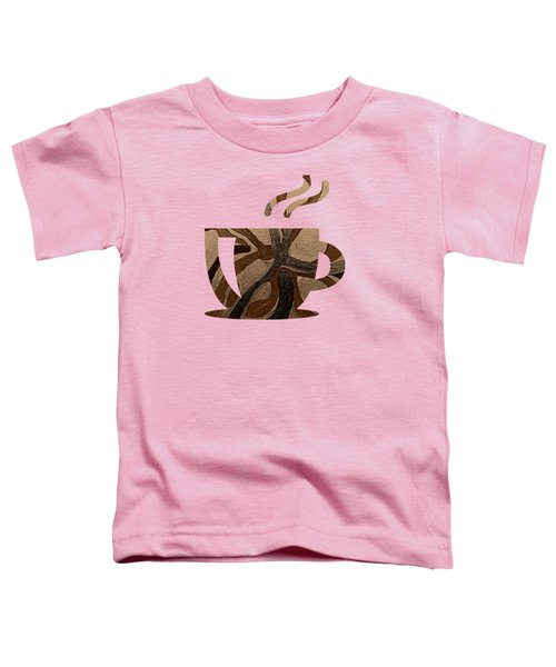 Mocha Java Swirl Toddler T-Shirt