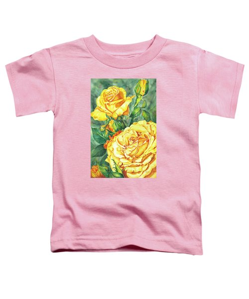 Mom's Golden Glory Toddler T-Shirt
