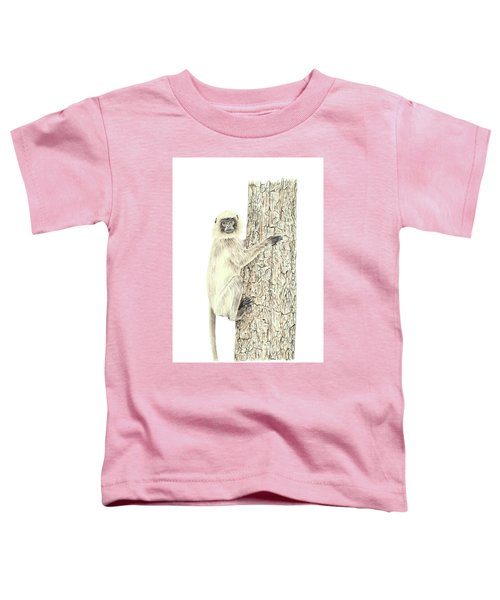 Monkey In The Tree Toddler T-Shirt