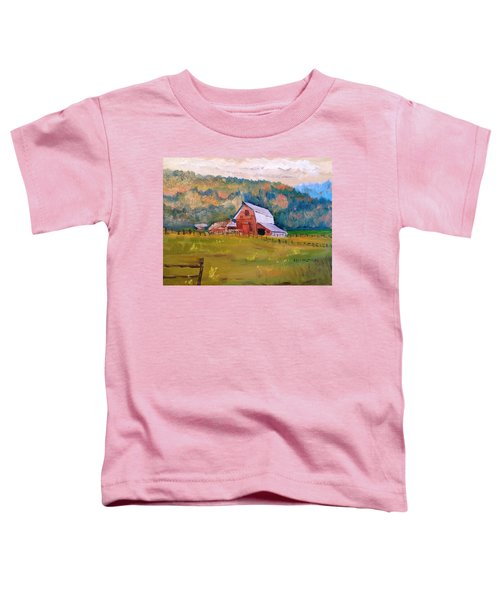 Montana Barn Toddler T-Shirt