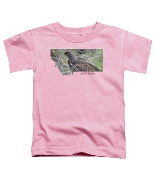 Montana- Dusky Grouse Toddler T-Shirt