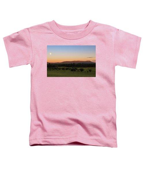 Moon Over Mount Tom Toddler T-Shirt