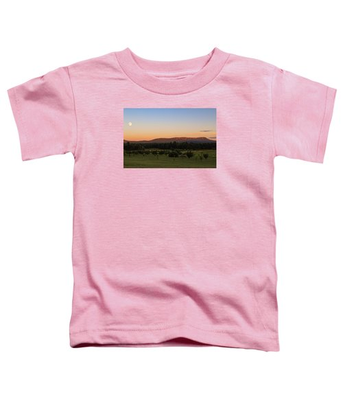 Moon Over Mount Tom Toddler T-Shirt