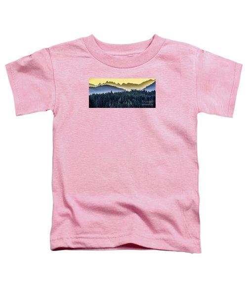 Morning Mountains Toddler T-Shirt